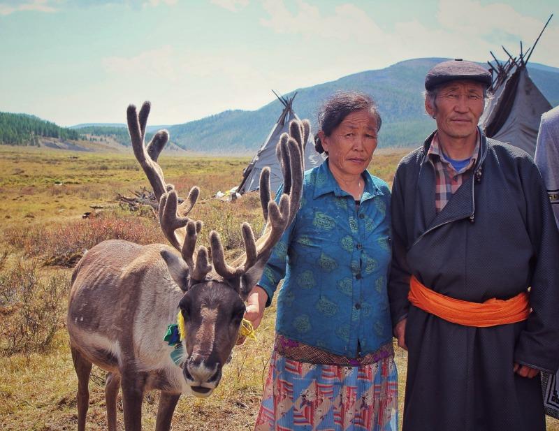 Tsaatan people mongolia gamba