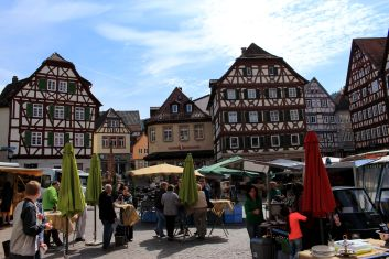 Market in Mosbach
