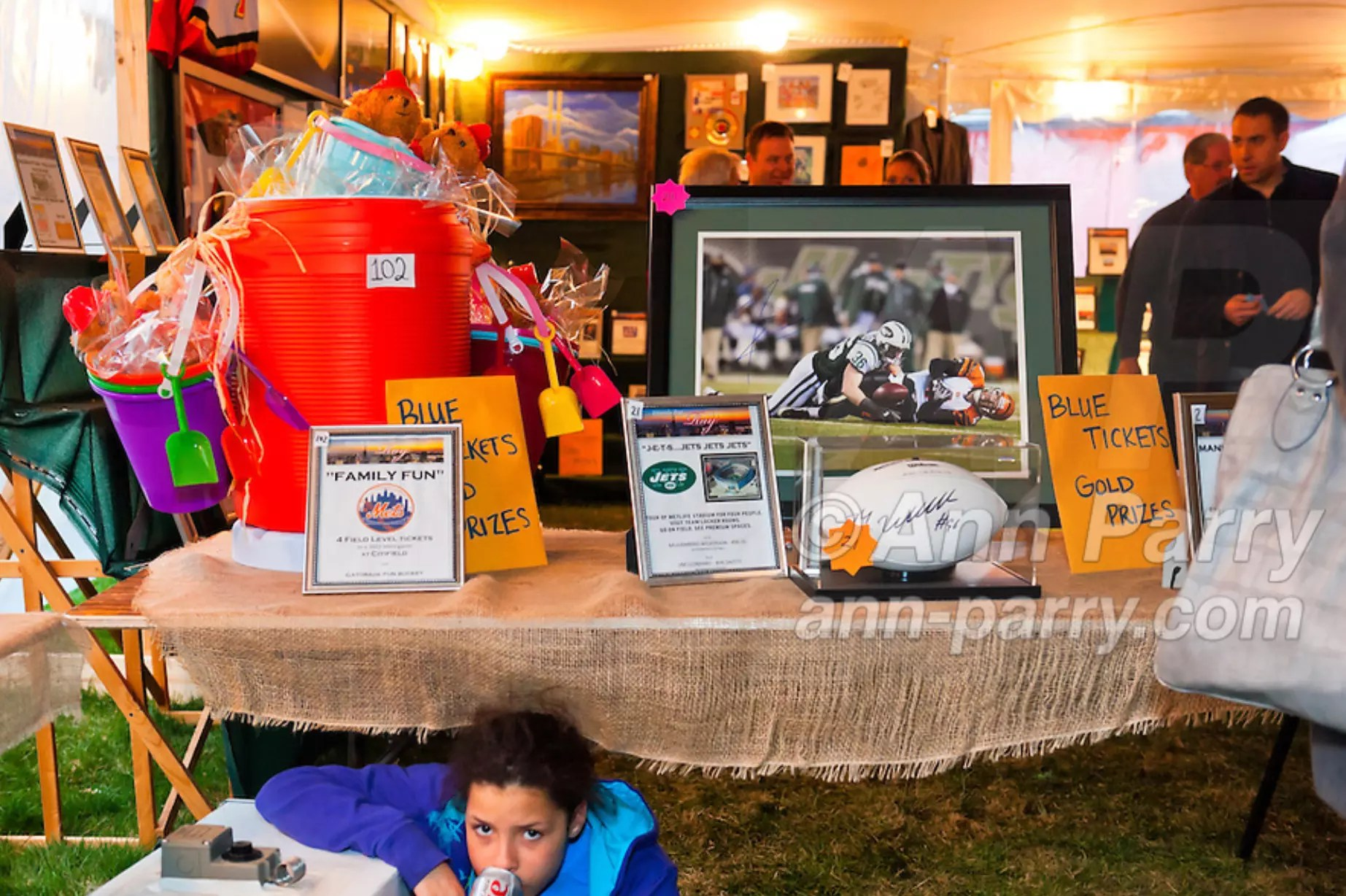 East Meadow, NY, USA. March 31, 2012. Fundraiser for firefighter Ray Pfeifer - battling cancer after months of recovery efforts at Ground Zero following 9/11 2001 Twin Towers attack - draws supporters from New York, Massachusetts and more, at East Meadow Firefighters Benevolent Hall.