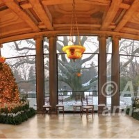 Old Westbury Gardens Winter Holiday - Now & Then