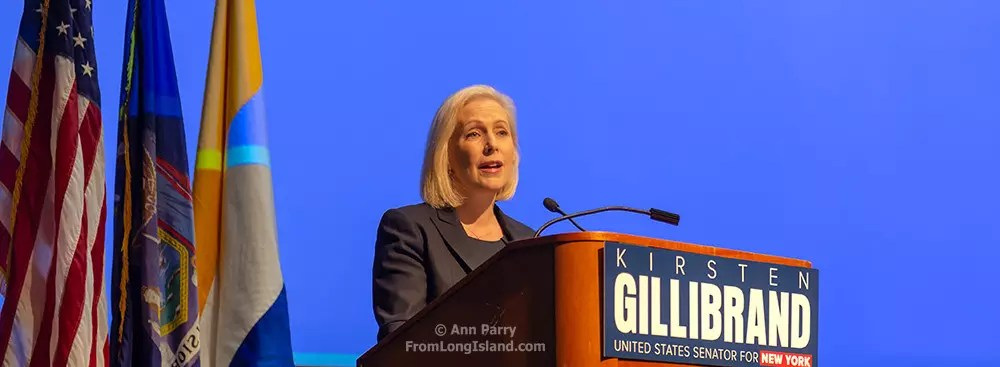 Gillibrand Town Hall at Hofstra: YES to Affordable Health Care, Good Education, Diversity, Protests & Hope