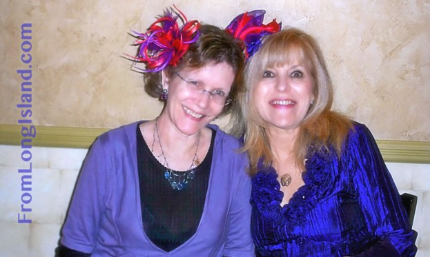 Long Island, New York, U.S. Nov. 14, 2020. L-R, ANN PARRY and JOYCE CHINSKY at Terrific Tootsies event. (need photographer's name)