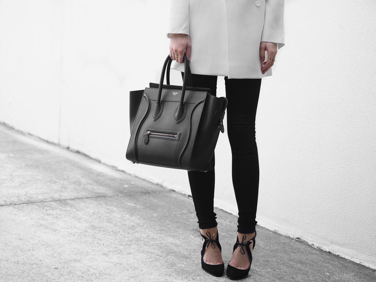 Celine Mini Luggage Black