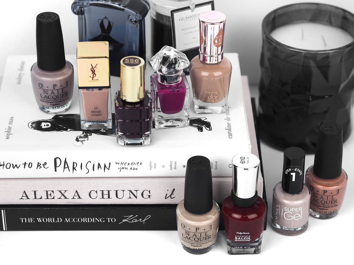 9 Must-Have Nail Colours for Winter