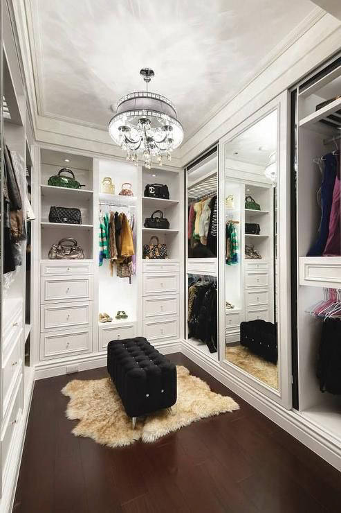 Dreamy Walk Closet Ideas From Luxe Love