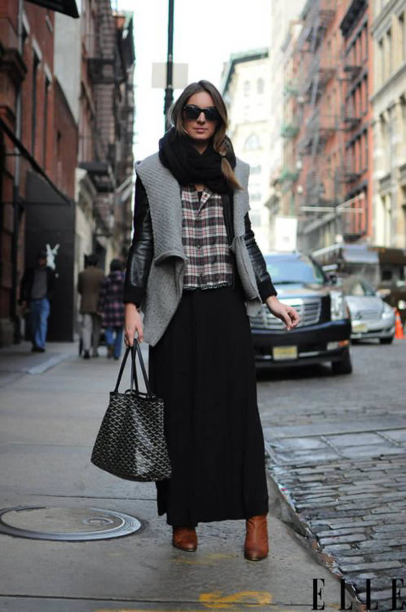 Goyard Tote Bag Street Style Outfit Celebrity