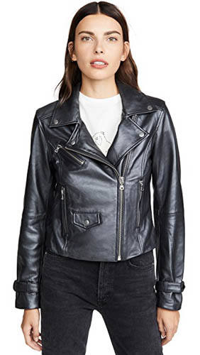 PAIGE Ashby Leather Jacket