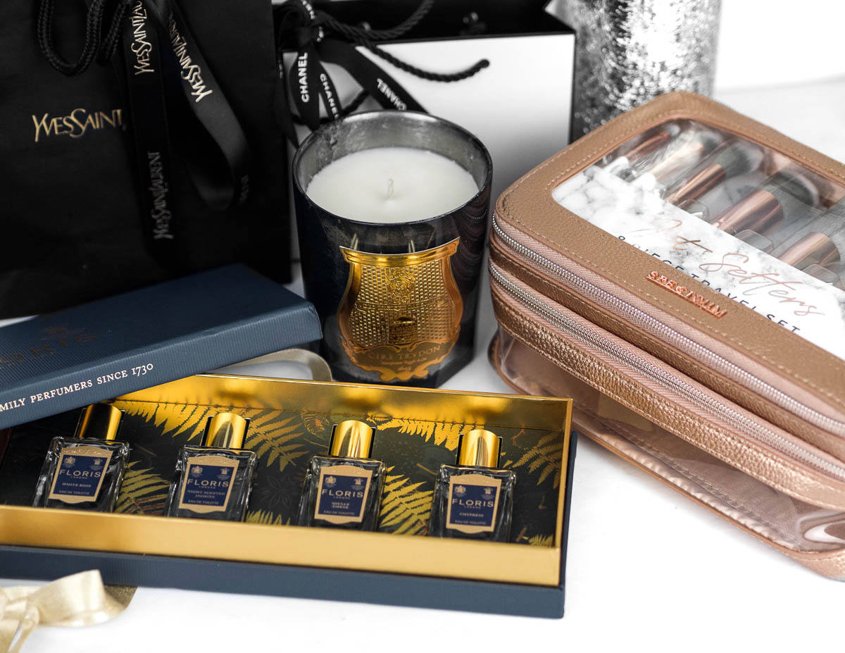 Floris London Travel For Her Perfume Set Cire Trudon Candle