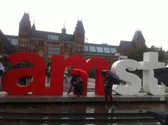 Sharing the love for Amsterdam...