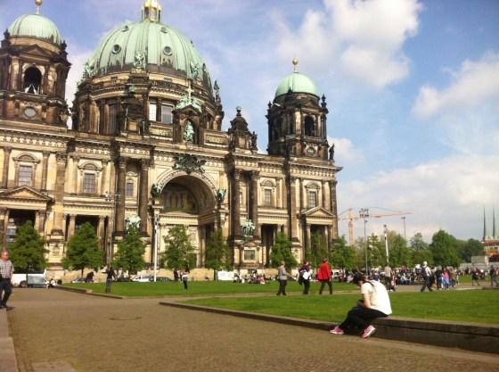 Berliner Dom e Jardim das Delícias