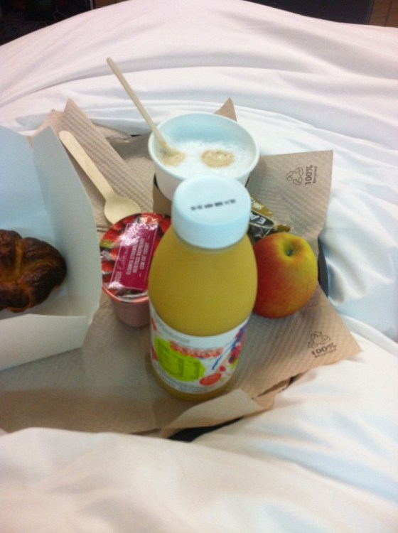 Speedy Continental Breakfast at YOTEL, 6,95£