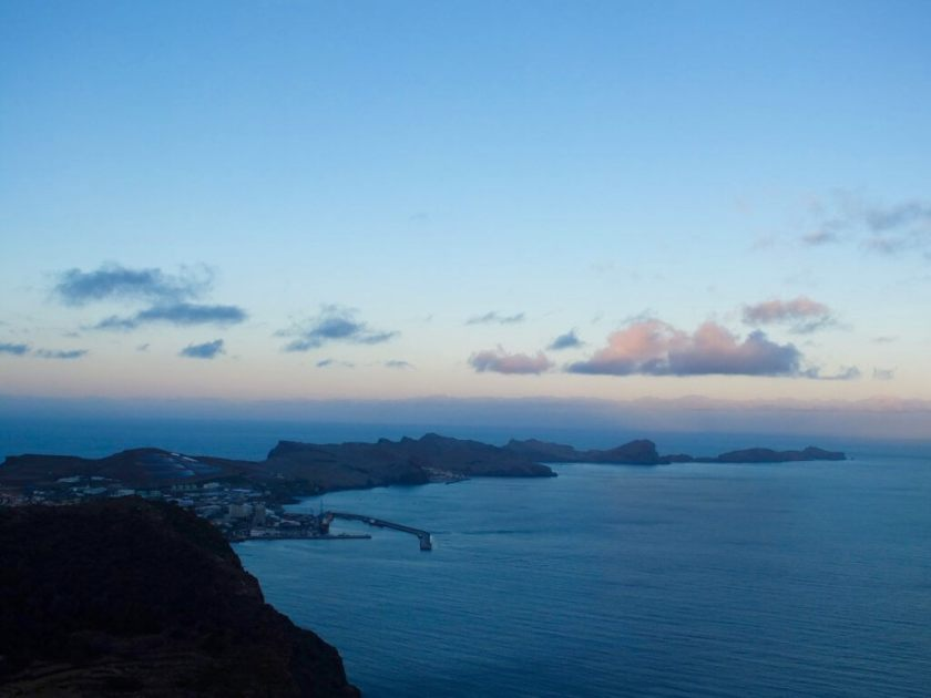 East view of Pico do Facho