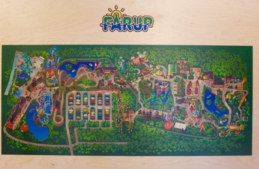 Farup Sommerland MAP