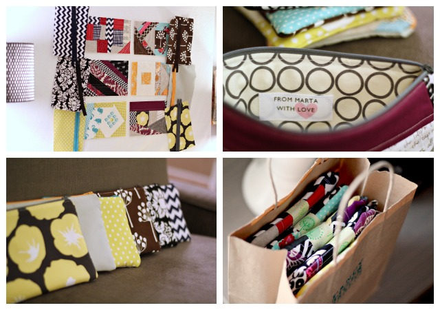 Gift pouches - from Marta with Love