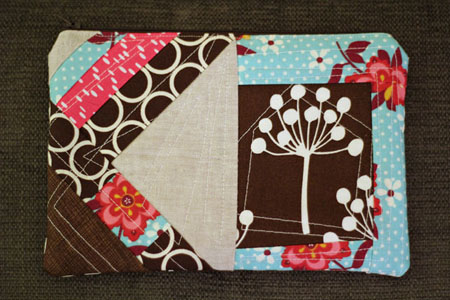 Zip Pouch for Heather - from Marta with Love