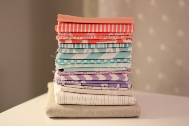Happy Fabric Stack - from Marta with Love