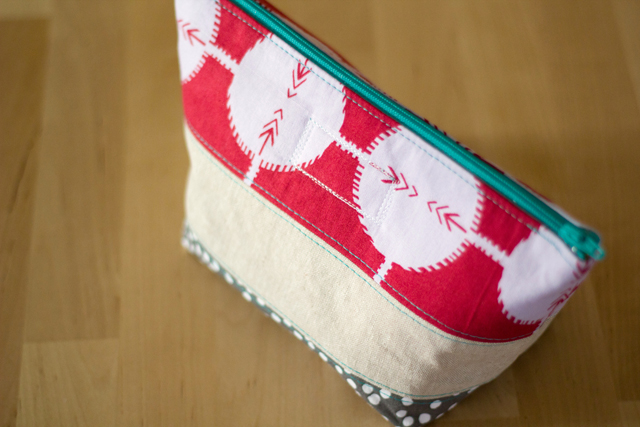 Open Wide Zip Pouch - from Marta with Love