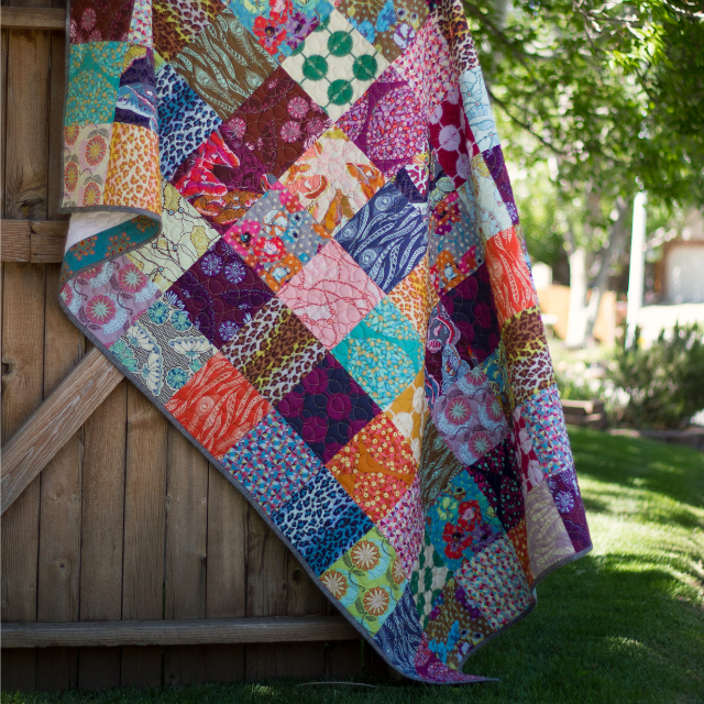 Field Study Patchwork Quilt