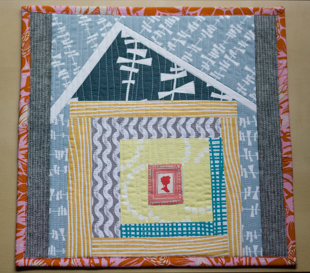 from Marta with Love - housewarming mini quilt