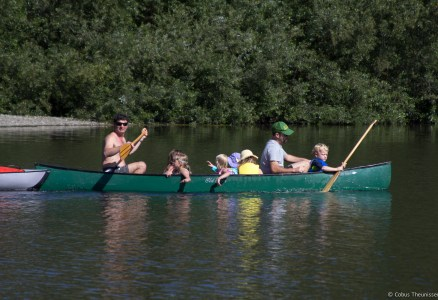 Paddling on Russian River