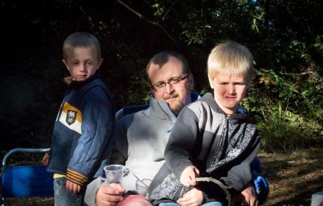Josh and his boys