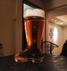 2 liters beer at Himmel Haus