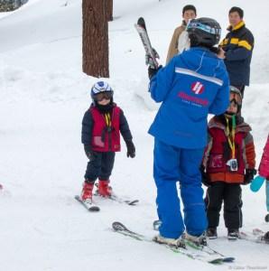 Colin at Ski School