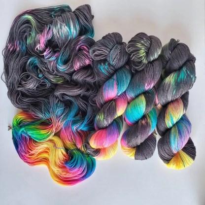 Midnight Rainbows colorway