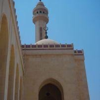 The minaret of the Al Fatih mosque