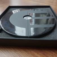 Curve card disk