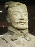 Terracotta Warriors Exhibition Hall warrior stern
