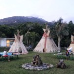 Camping at Palm Beach Teepee Village