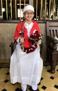 My 10-year old priest!
