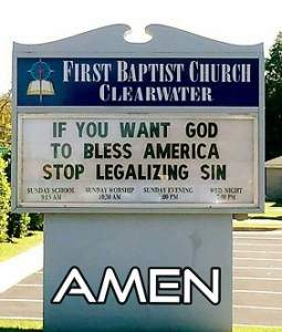 Legalizing Sin