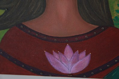 Detail work / Real Lotus seed
