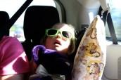 Ashley enjoyed the ride. :)