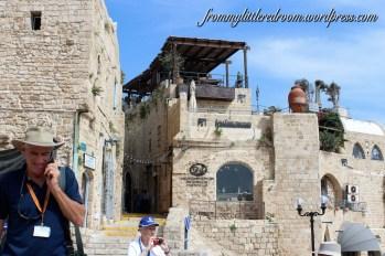 I love the stone buildings in Jaffa! :)