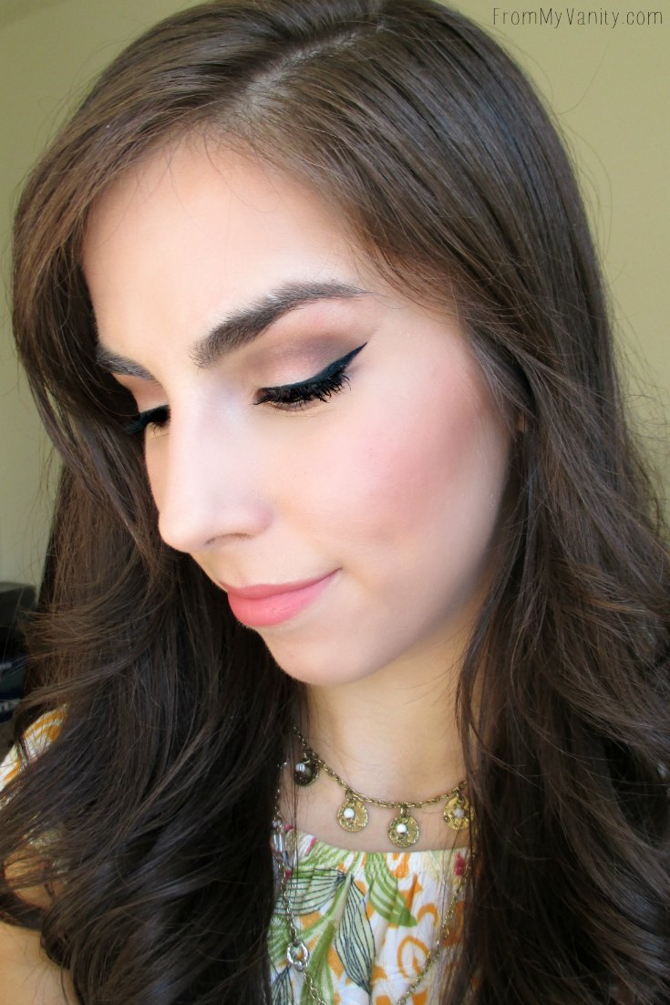 Ever since discovering the trick to creating a sharp, perfect winged liner, my life is so much easier! | FromMyVanity.com