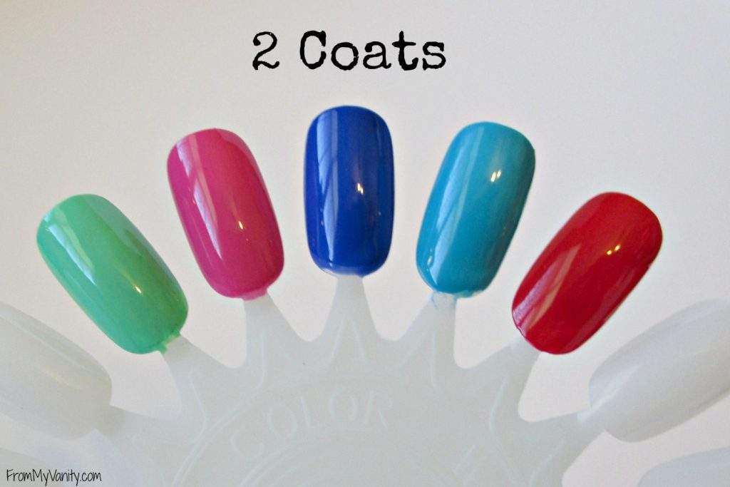 Bonita Salon Gel-On Nail Polish // 2 Coats // From My Vanity // (www.frommyvanity.com) #ladykaty92
