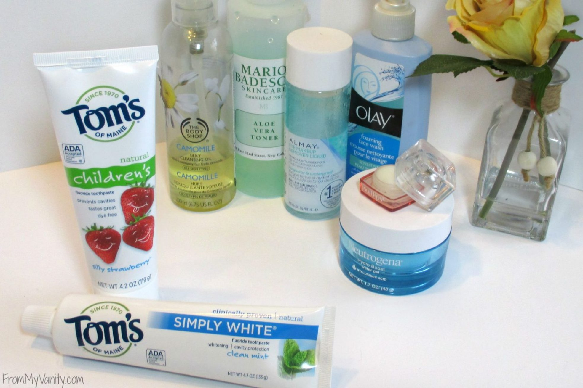 My Night Time Routine with Tom's of Maine // Products // From My Vanity #naturalgoodness