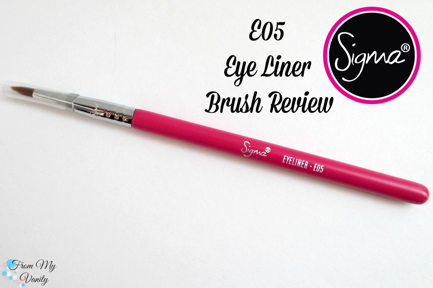 Sigma E05 Eye Liner Brush // From My Vanity