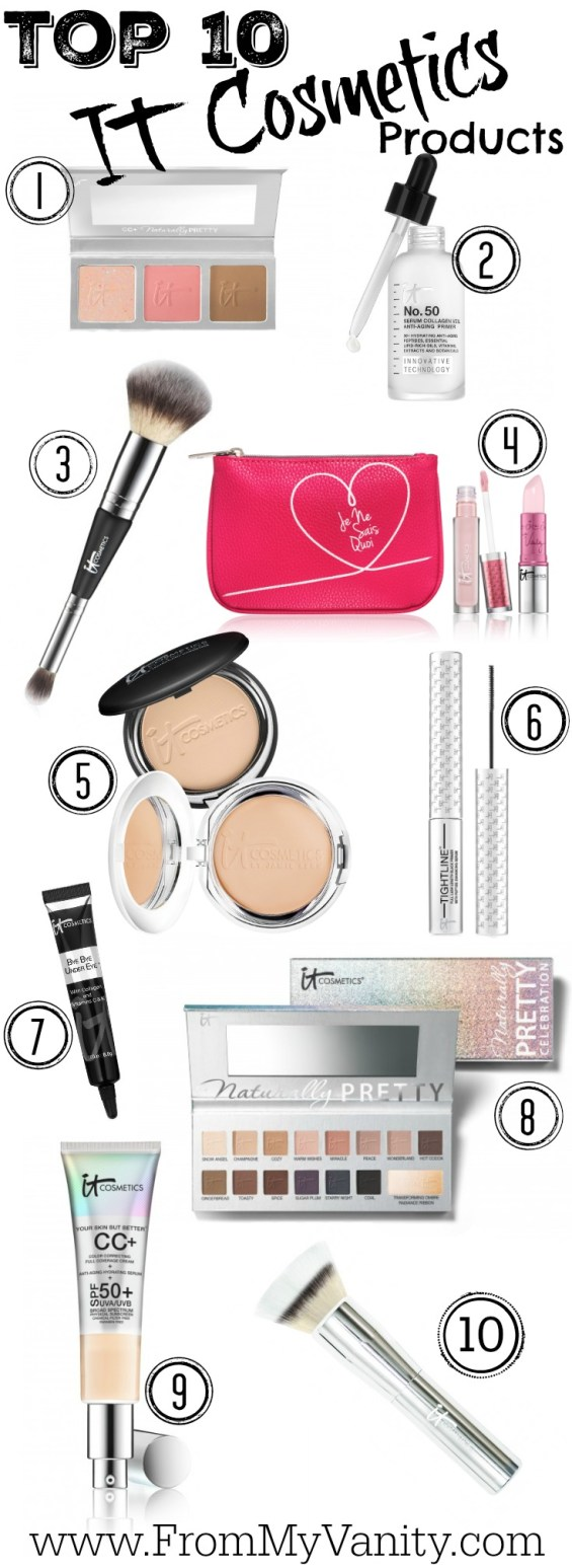Top 10 It Cosmetics Product Recommendations // Friends & Family Sale // #ItCosmetics FromMyVanity.com