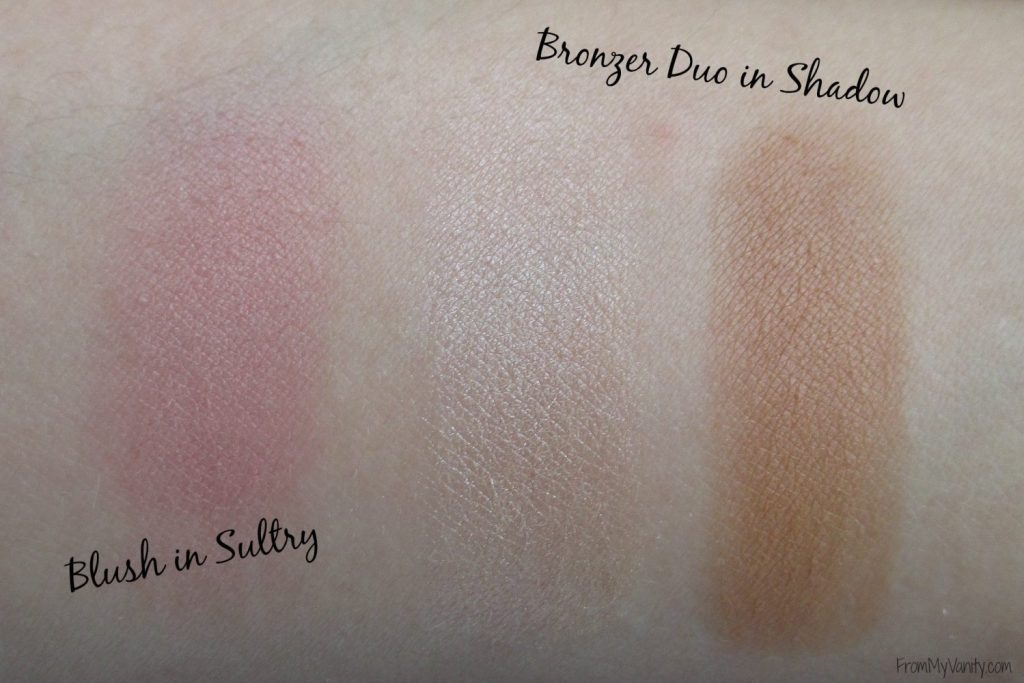 One Brand Tutorial & Review // The EDGE Beauty // blush & bronzer swatches // #edgebeauty #swatches #ladykaty92 FromMyVanity.com