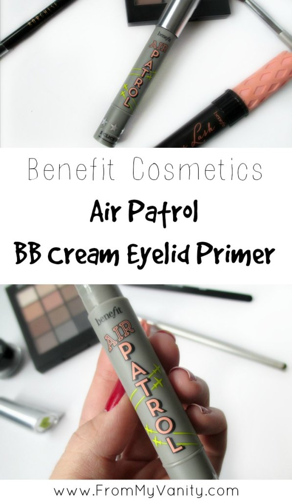 I've been SO curious about Benefit's new Air Patrol eyeshadow primer! I haven't seen too many reviews about this product and if you're like me, click through for the review!