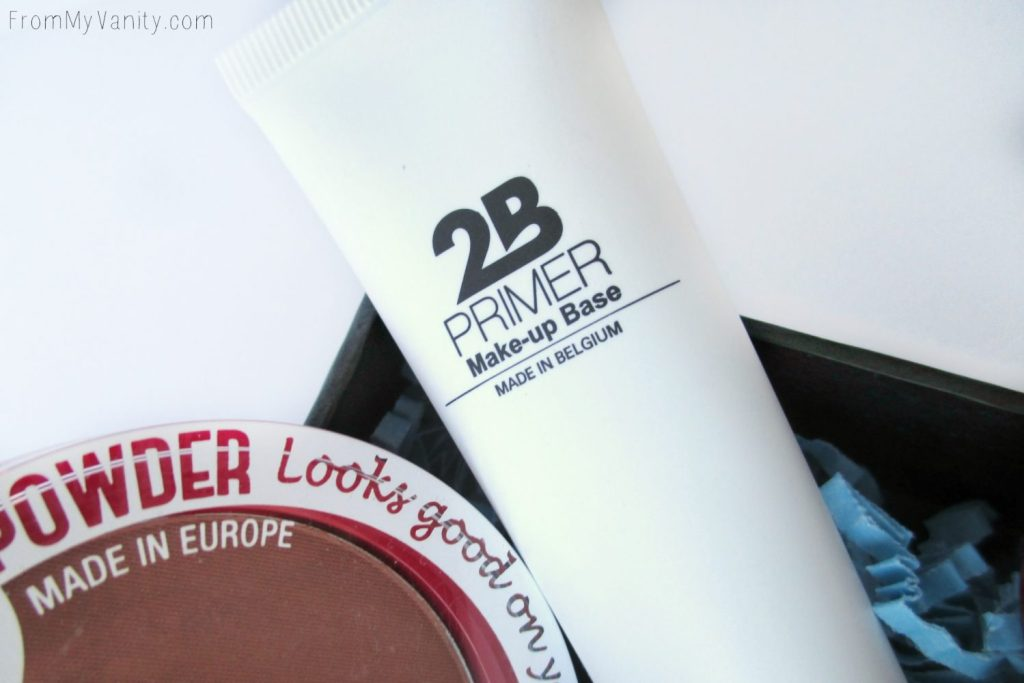 2B Colours primer is SO unique and feels great on the skin!