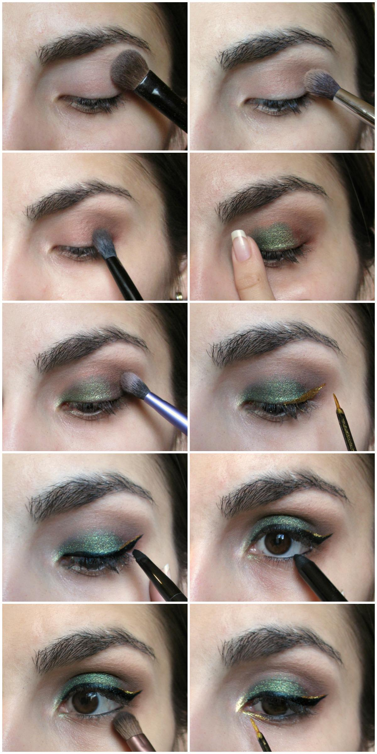 Easy St Patrick's Day Step by Step Makeup Tutorial