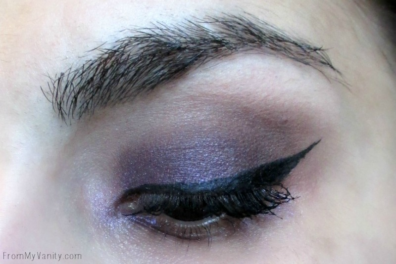 Purple smokey eye using the NEW Revlon ColorStay Not Just Nudes palette | FromMyVanity.com