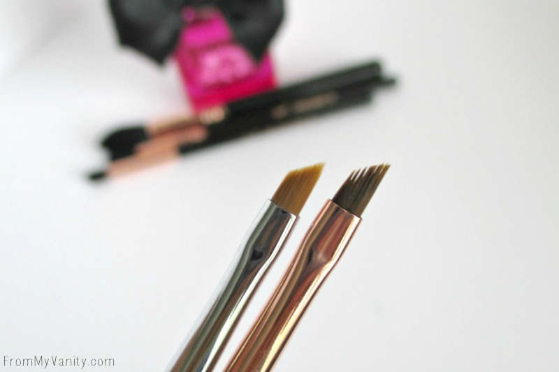 Closeup of my Sigma Beauty Winged Liner E06 Brushes!