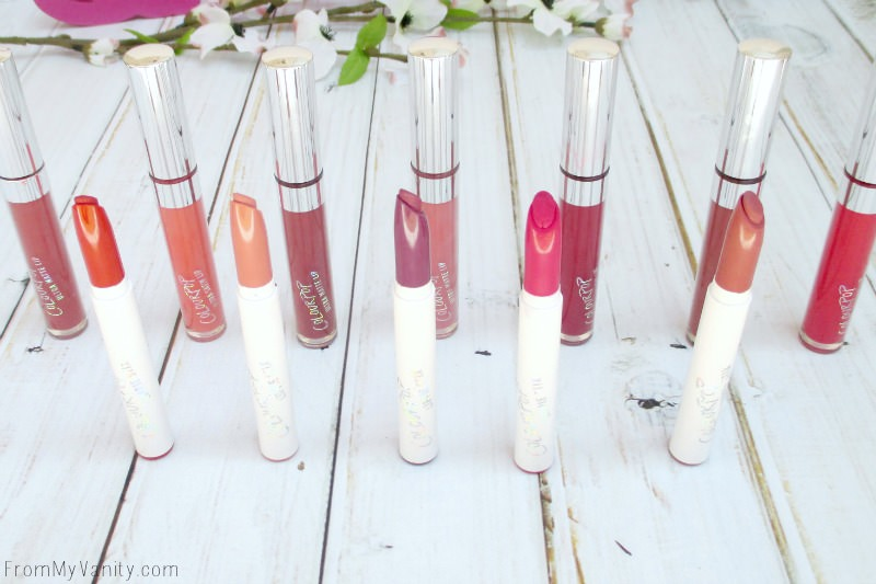Check out all these Colourpop lippies!