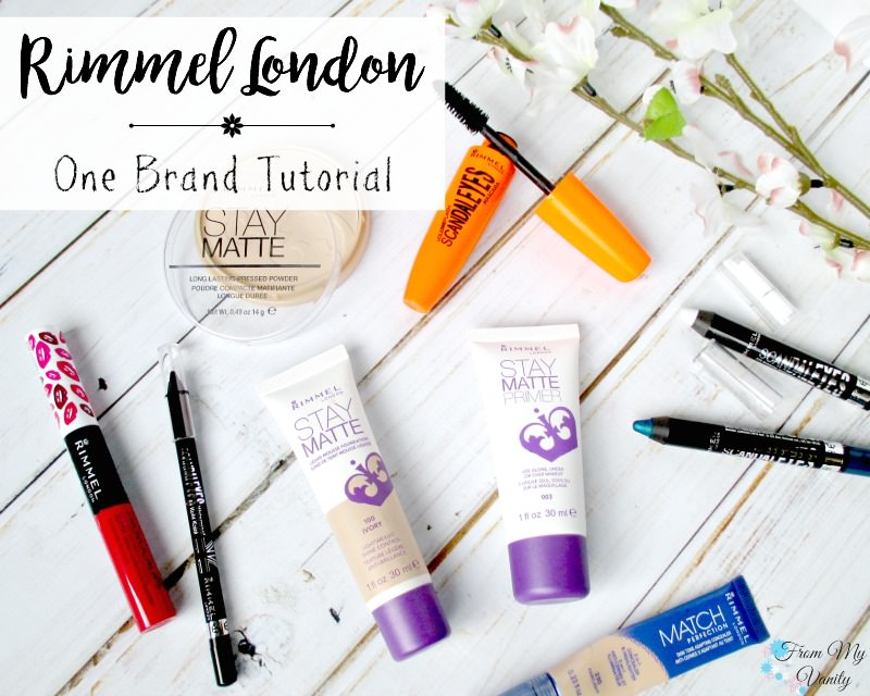 A one brand tutorial featuring Rimmel London! Get the london look!